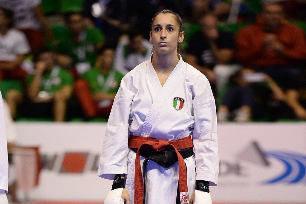 Giulia Pisano karateka